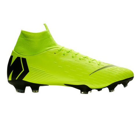 Nike Men Mercurial Superfly 6 Pro FG Soccer Cleats - Yellow