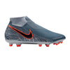 Nike Phantom Vision Academy DF FG Firm Ground Soccer Cleats-Armory Blue Black - SoccerCart/SoccerMall