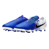 Nike Men Phantom Venom Pro FG Soccer Cleats - Blue white - SoccerCart/SoccerMall