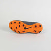 Nike Kids Phantom III Academy FG Soccer Cleats-Grey Orange bottom right shoe