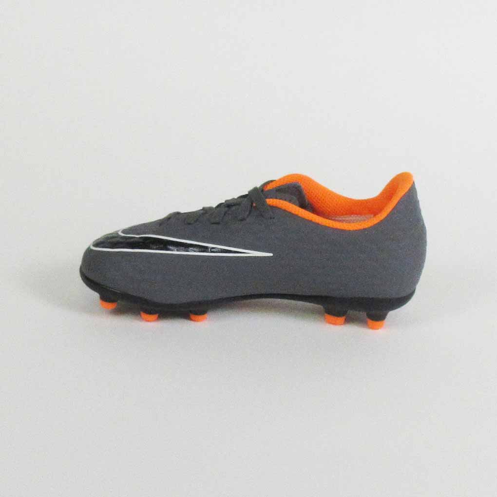 5ed7e4ca7ba8c Nike Phantom III Club Kids FG Soccer Cleats-Grey Orange - SoccerMall ...
