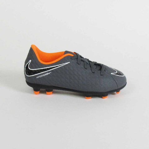 7cb1d47a93e Nike Phantom III Club Kids FG Soccer Cleats-Grey Orange - SoccerMall ...