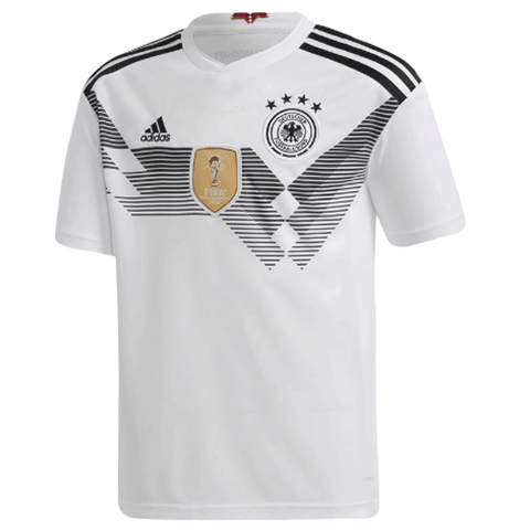 Adidas Germany 2018 Home Adult Soccer Jersey-White