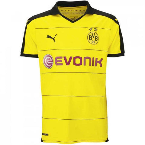 Puma Borussia Dortmund (BVB) 2015/16 Youth Home Jersey - SoccerCart/SoccerMall