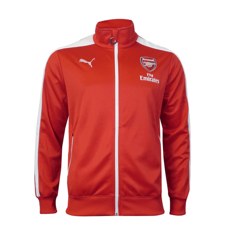 cd125a9e559 Puma Arsenal FC T7 Men s Anthem Jacket - SoccerMall-beinsoccer