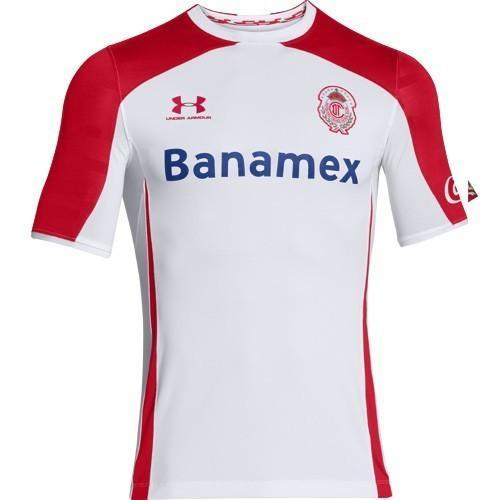 f58ef7458 Under Armour Deportivo Toluca FC 2014/15 Men's Away Jersey ...