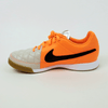 NIke Junior Tiempo Genio Leather IC Indoor Soccer Shoes - Sand Orange
