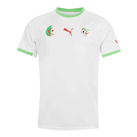 Puma Algeria 2013-14 Men Home Jersey -White