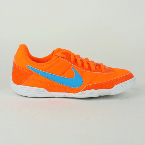 Nike Junior Davinho IC Indoor Soccer Shoes - Orange