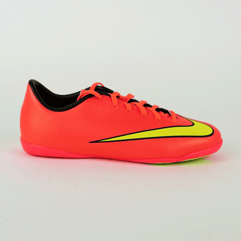 Nike Junior Mercurial Victory V IC Indoor Shoes - Hyper punch - SoccerCart/SoccerMall