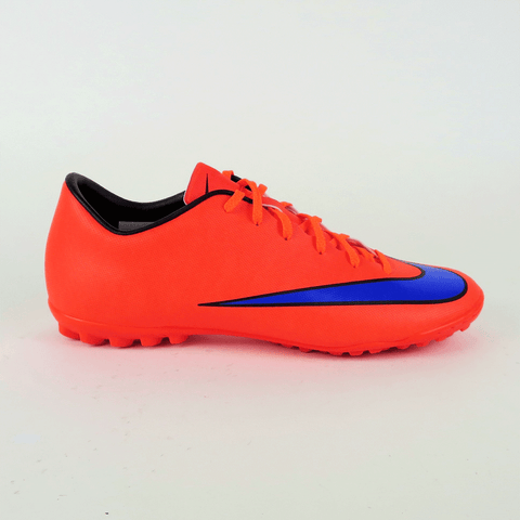 uk availability b245a a5635 Nike Mercurial Victory V TF Men's Turf Soccer Shoes - Crimson/Violet