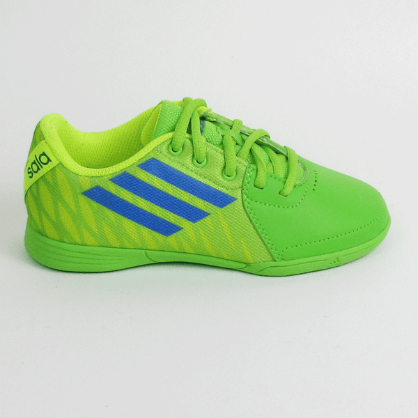 2291a54c026 Adidas freefootball SpeedKick Junior Indoor Shoes - Green - SoccerCart  SoccerMall