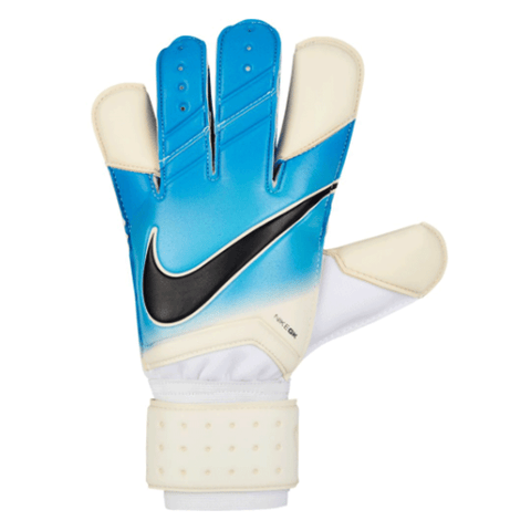 Nike Men Grip3 Goalkeeper Soccer Gloves - Blue White