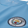 Nike Manchester City 2017-18 Men Home Stadium Soccer Jersey - Light Blue