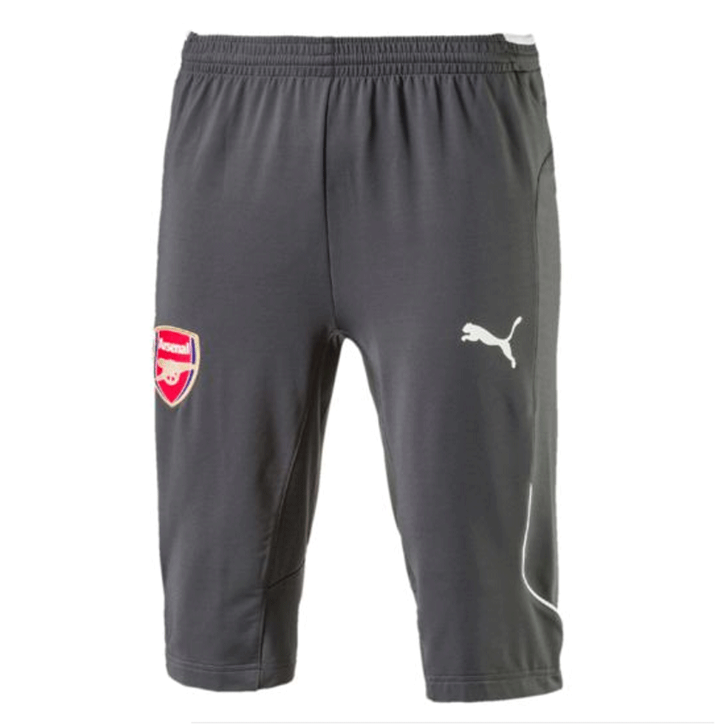 74aaf8aff Puma Arsenal FC 2017-18 Adult 3/4 Training Pants-Dark Shadow ...