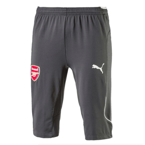 Puma Arsenal FC 2017-18 Adult 3/4 Training Pants-Dark Shadow - SoccerCart/SoccerMall