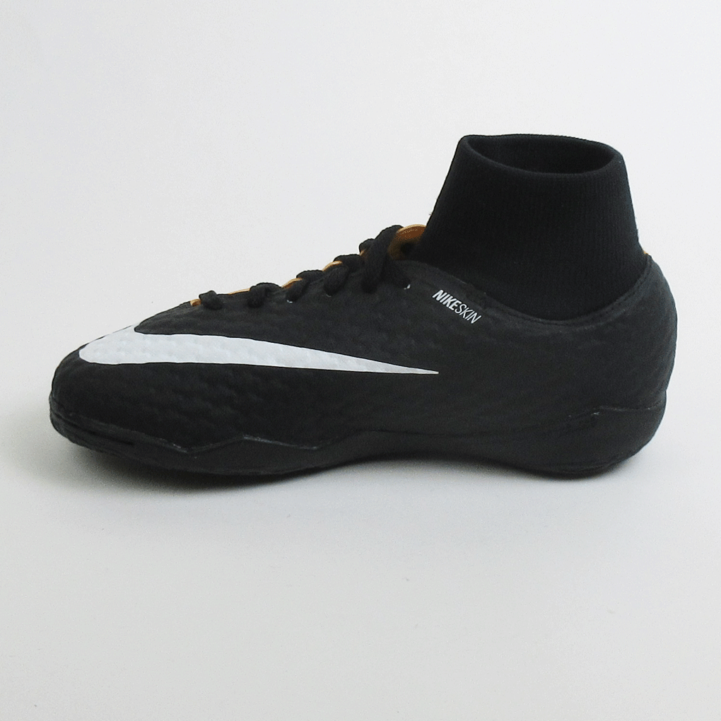 fdb4b9debe9 ... Nike Junior Hypervenom Phelon 3 DF IC Indoor Soccer Shoes - Laser  Orange ...