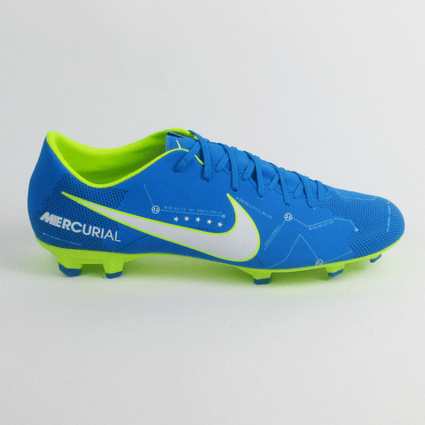 Nike Mercurial Victory VI Neymar Jr FG Men Soccer Cleats -Blue
