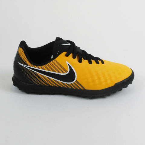 NIke Junior MagistaX Ola II TF Turf Soccer Shoes- Laser