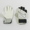 Nike Junior Goalkeeper Match Soccer Gloves - Grey Black - SoccerCart/SoccerMall