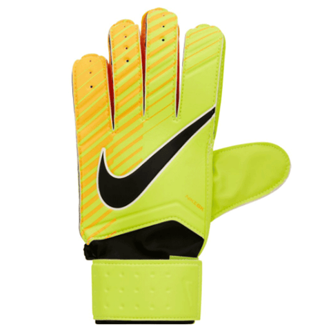 Nike Junior Goalkeeper Match Soccer Gloves-Volt orange