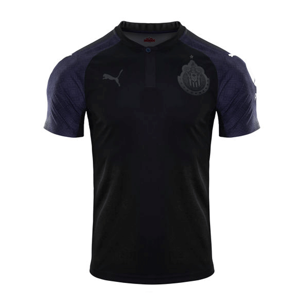 34e98d143 Puma Chivas Cup 2017-18 Away Men Soccer Jersey - Black