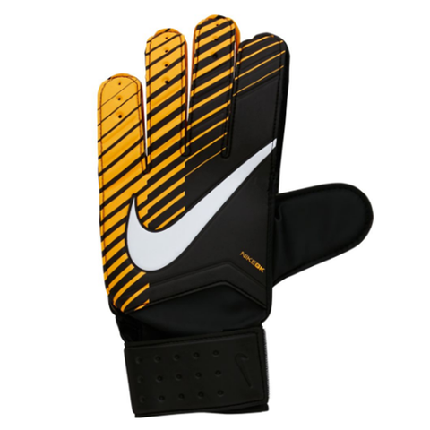 Nike Goalkeeper Match Soccer Gloves-Black Orange - SoccerCart/SoccerMall