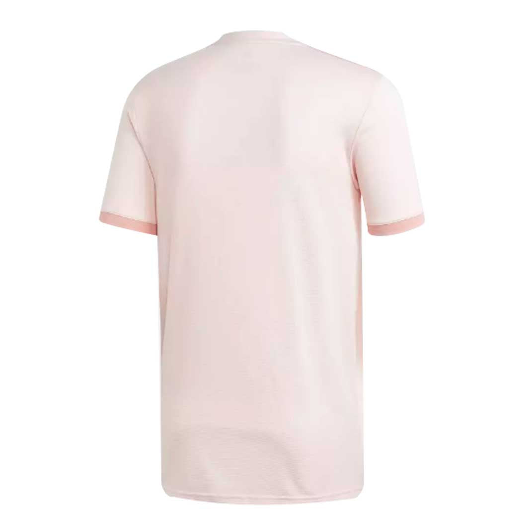 low priced c1b1e 0d1b9 Adidas Manchester United FC 2018-19 Youth Away Soccer Jersey-Pink
