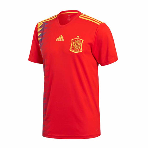 Adidas Spain FEF 2018 Men Home Soccer Jersey-Red - SoccerCart/SoccerMall