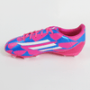 Adidas F10 Junior Soccer Cleats-Pink Blue