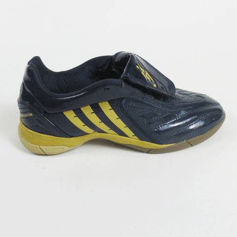 Adidas Absolado LZ  Junior Indoor soccer shoes-Navy - SoccerCart/SoccerMall
