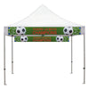 Canopy Banner, Tent Banner for Indoor outdoor 12 inch x 9.5 ft. for 10 X10 canopy - SoccerCart/SoccerMall