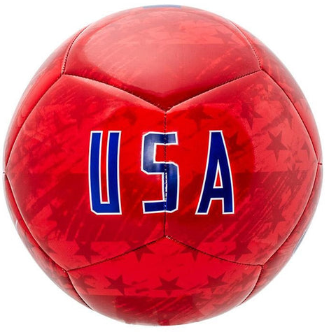 Nike USA Pitch Soccer Ball-Red - SoccerCart/SoccerMall