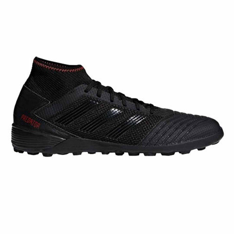 Adidas Predator 19.3 TF Turf shoes-Black Red - SoccerCart/SoccerMall