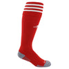 Adidas Copa Zone Cushion Game Socks-Red white - SoccerCart/SoccerMall
