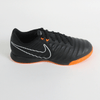 Nike Junior Legend 7 Academy IC Indoor Soccer Shoes- Black Orange - SoccerCart/SoccerMall