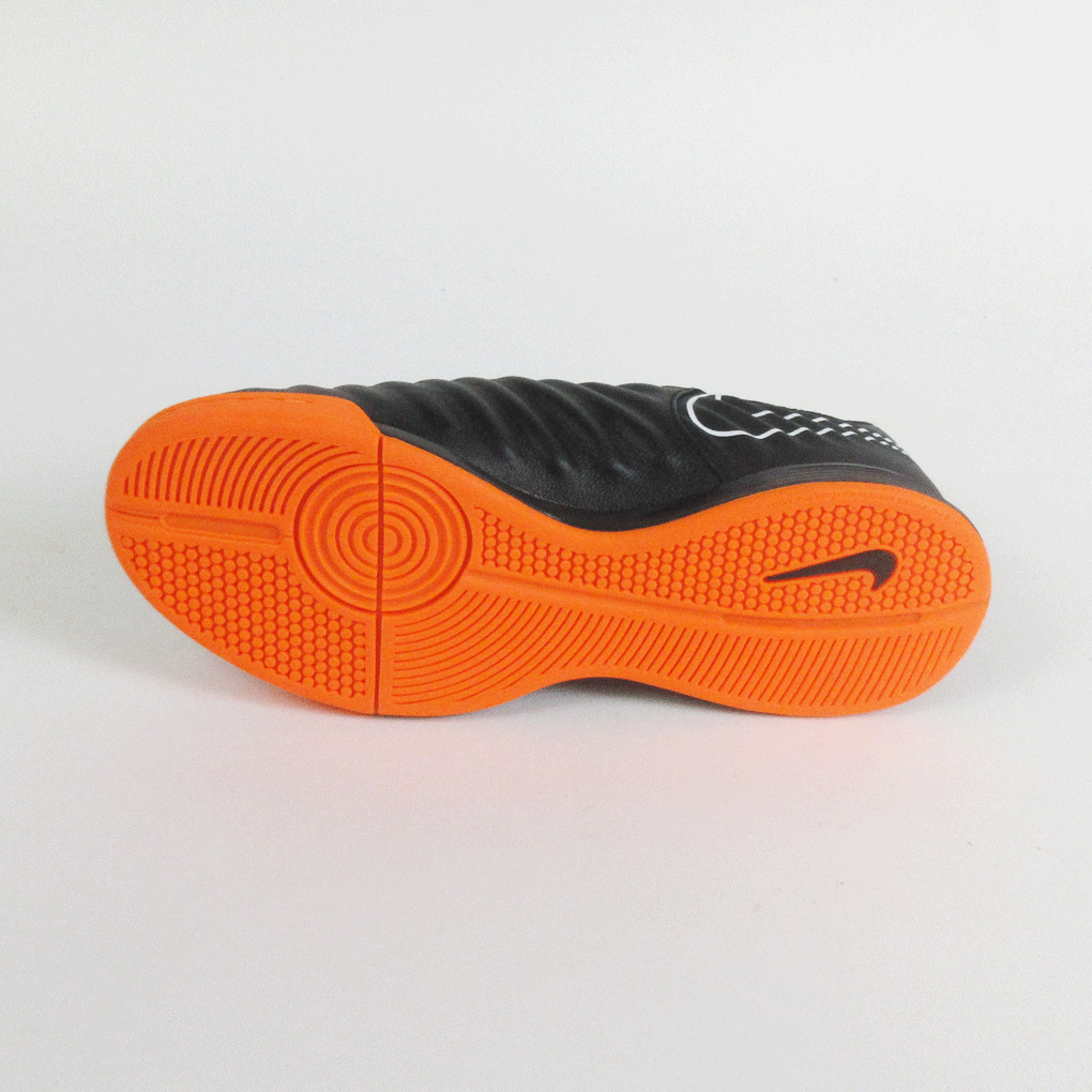 cdd6626a234 ... Nike Junior Legend 7 Academy IC Indoor Soccer Shoes- Black Orange -  SoccerCart SoccerMall