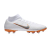 Nike Men Superfly 6 Academy MG Soccer Cleats -White Orange - SoccerCart/SoccerMall