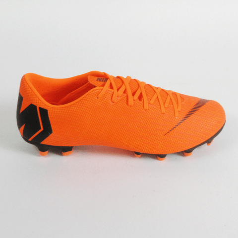 Nike Men Vapor 12 Academy MG Soccer Cleats - Orange - SoccerCart/SoccerMall