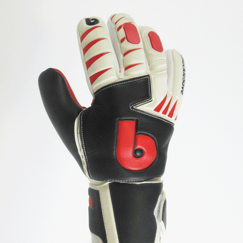 beinsoccer knuckleSave Goalkeeper gloves-Red Black - SoccerCart/SoccerMall