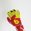 beinsoccer knuckleSave Goalkeeper gloves-Red Yellow - SoccerCart/SoccerMall