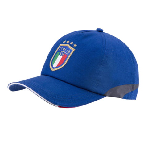 Puma Italia Training cap - Royal Red Green - SoccerCart/SoccerMall