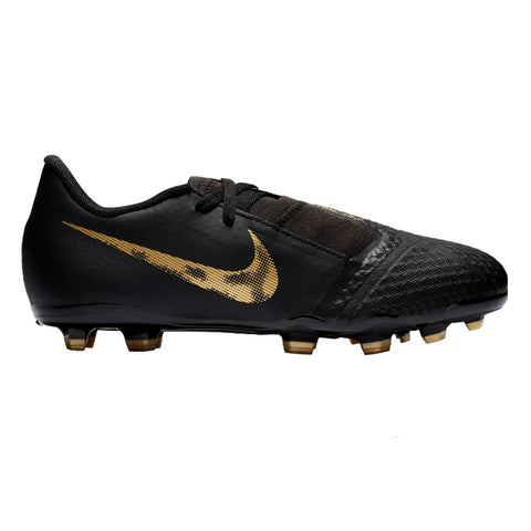 Nike Men Phantom Venom Academy FG Soccer Cleats - Black Gold - SoccerCart/SoccerMall