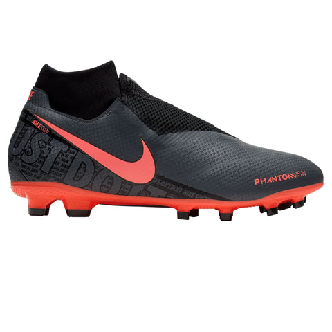 Nike Phantom Vision Pro DF Adult Soccer Cleat-Dark Grey - SoccerCart/SoccerMall