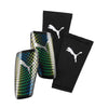 Puma Standalone Slip on shinguard-Silver Green