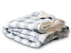 Mink Sherpa Embroidered Blankets 50 x 60 in 15 colors - SoccerCart/SoccerMall
