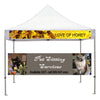 Canopy Banner, Tent Banner for Indoor outdoor, sports banner, craft show banner - SoccerCart/SoccerMall