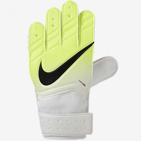 Nike Junior Match Goalkeeper Gloves - Yellow White - SoccerCart/SoccerMall