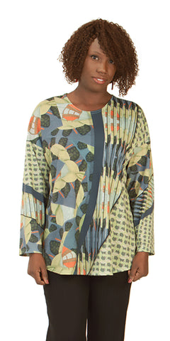 Colorado Spring - Women's Long Sleeve Designer Print Top