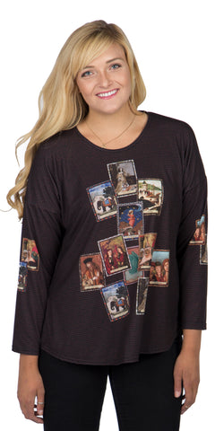 Tarot - Boutique Print Women's Long Sleeve Top